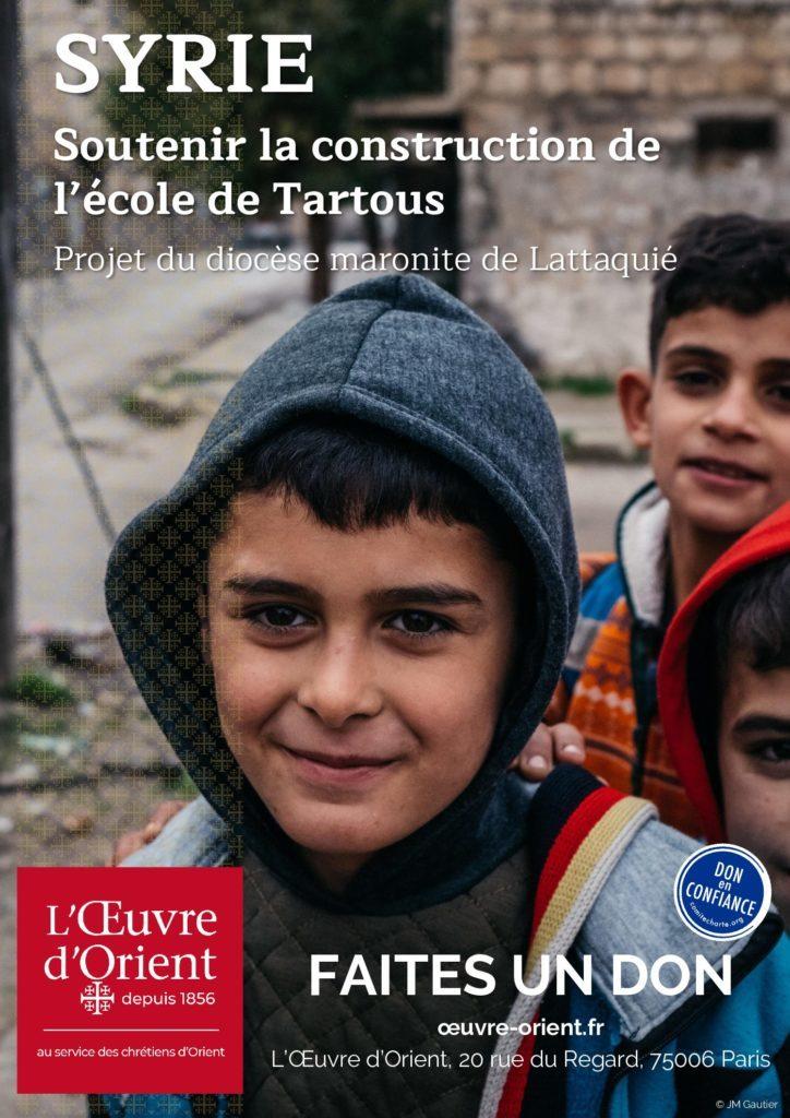 Partage de carême : les chrétiens de Syrie ont besoin de nous !