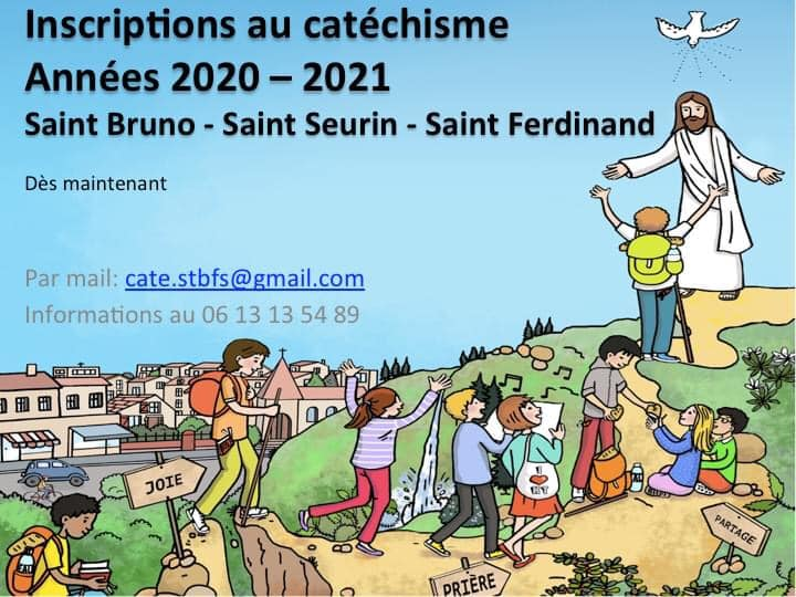 Permanences Inscription catéchisme Secteur Saint Seurin