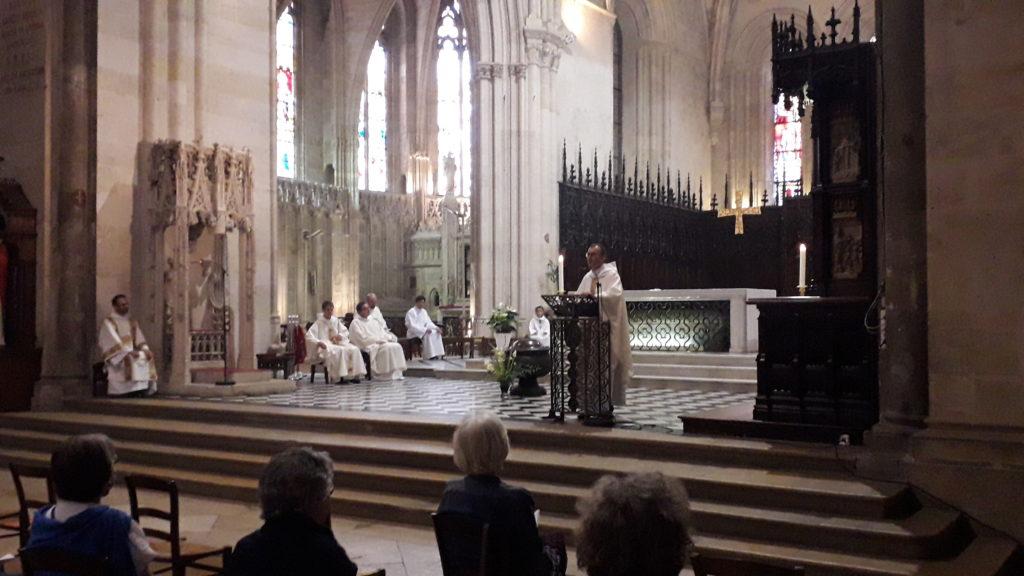 Première messe de nos nouveaux prêtres à Saint Seurin