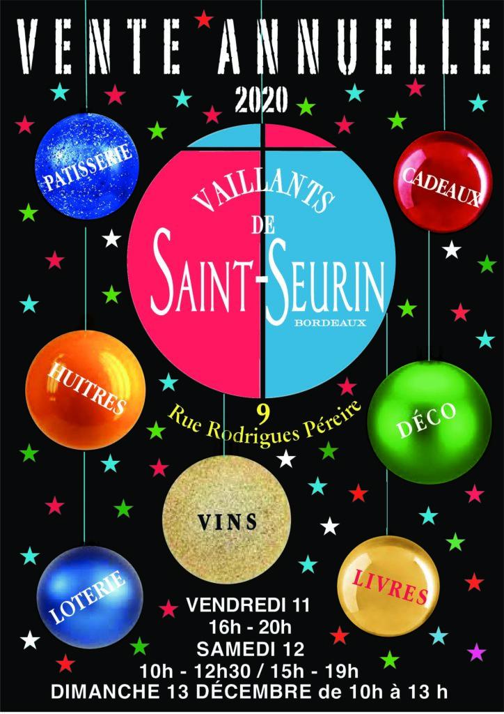 Vente annuelle des vaillants de Saint Seurin